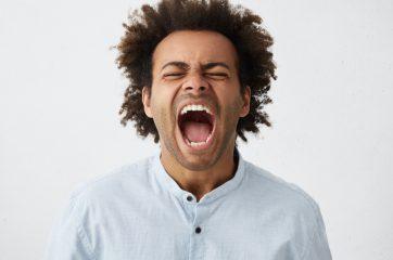 He who shouts loudest