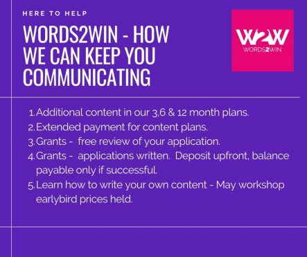 Keep calm and communicate – how Words2Win is helping you communicate through the COVID-19 crisis.